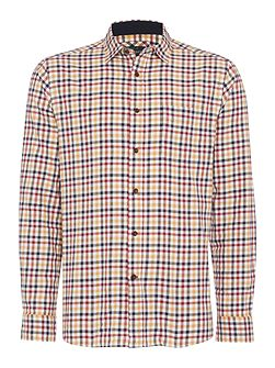 Fallston Checked Long Sleeve Shirt