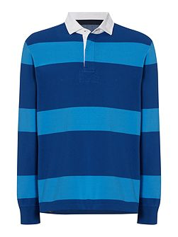 Men's Howick Haywood Striped Long Sleeve Rugby Top