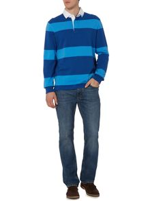 Howick Haywood Striped Long Sleeve Rugby Top