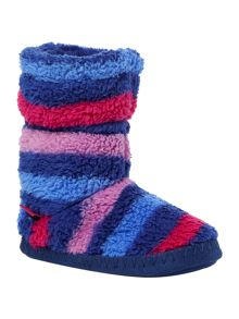 Joules Girls Supersoft Fluffy Slippersock