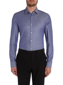 Hugo Boss Jilip Pattern Slim Fit Long Sleeve Shirt