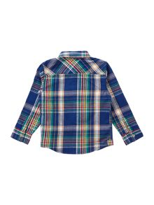 Boys Brushed Cotton Check Shirt