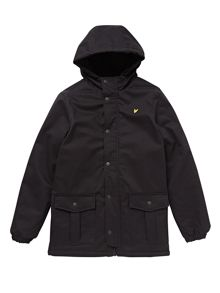 Lyle and Scott Boys 2 Pocket Hooded Jacket