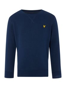 Boys Long Sleeved Elbow Patches Sweater