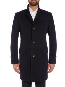 Hugo Boss Sintrax Diagonal Twill Overcoat