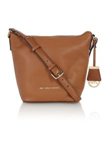 Bedford tan small cross body bag