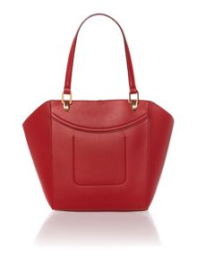 Lexington red medium tote bag