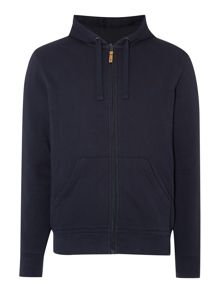 Army & Navy Gower Plain Zip-Thru Hoodie