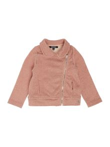 DKNY Baby girls fleece cardigan