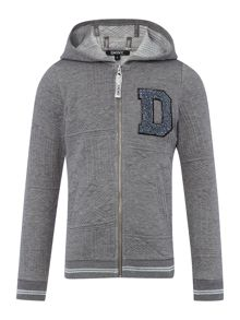 DKNY Girls hooded cardigan