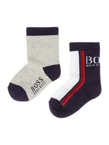 Hugo Boss Baby boys set of two pairs of socks