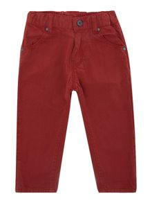 Baby boys checked trousers