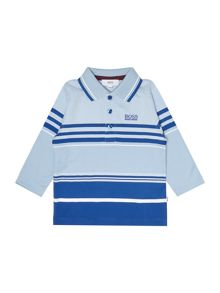 Hugo Boss Baby boys striped polo shirt