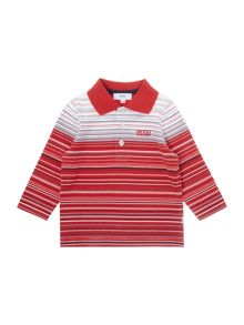Baby boys striped polo shirt