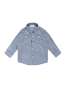 Baby boys gingham shirt
