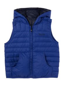 Hugo Boss Baby boys sleeveless puffer jacket