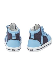 Hugo Boss Baby boys high trainers