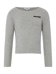Hugo Boss Girls knitted jumper