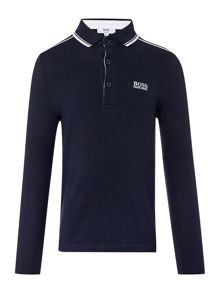 Boys long sleeves polo shirt