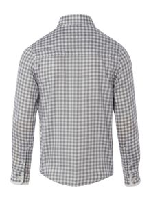 Hugo Boss Boys gingham shirt