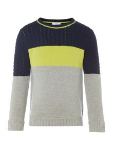 Hugo Boss Boys fleece jumper