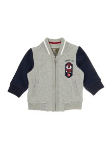 Baby boys quilted cardigan