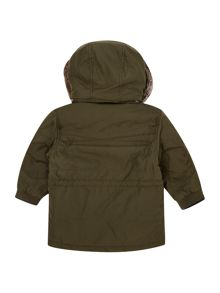 Timberland Baby boys hooded parka