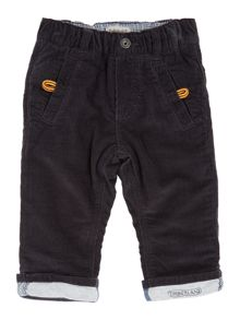 Baby boys velvet trousers