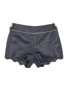 Baby girls shiny shorts