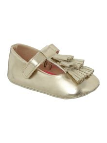 Baby girls shoes with tassles