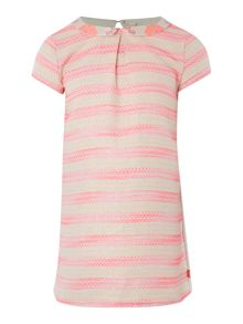 Billieblush Girls striped dress