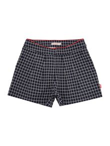 Billieblush Girls checked shorts
