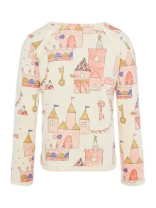 Billieblush Girls fleece sweater