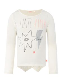 Billieblush Girls asymmetrical t-shirt