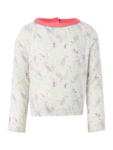 Billieblush Girls all over printed blouse