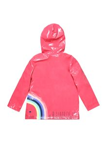 Billieblush Girls hooded rain coat