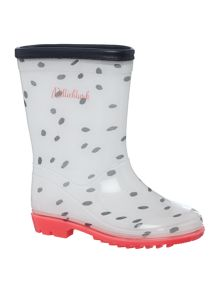 Girls wellington boots