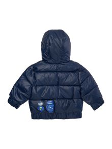 Billybandit Baby boys reversible puffer jacket