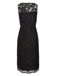 Pied a Terre Slash neck lace dress