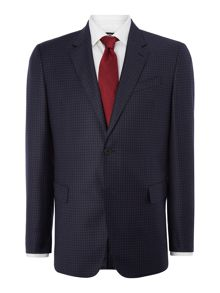 Byard Check Classic Fit Two-Piece Suit