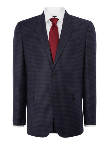 Paul Smith London Byard Check Classic Fit Two-Piece Suit