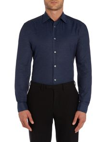Paul Smith London Textured Slim Fit Long Sleeve Shirt