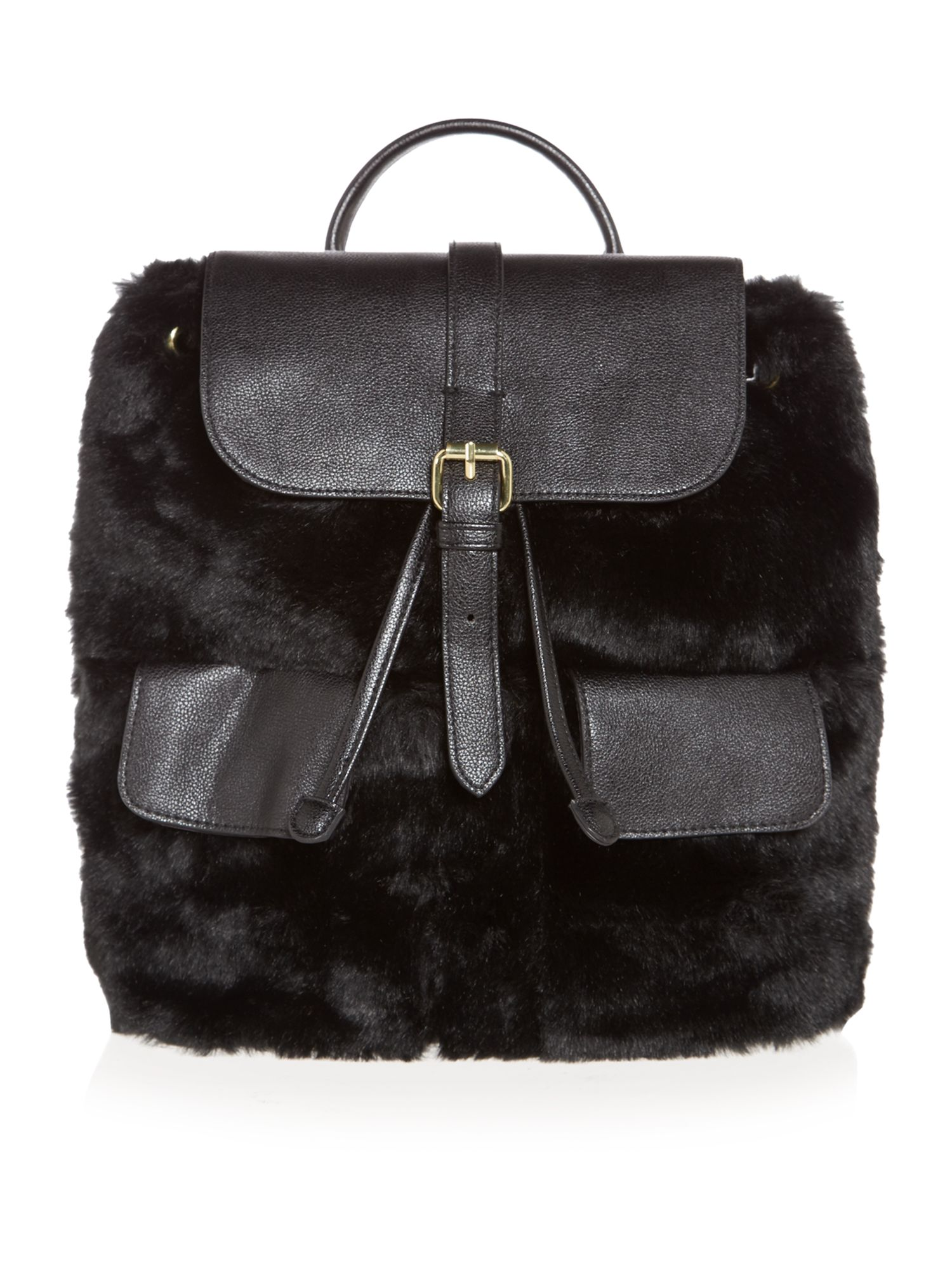 Therapy Fur Backpack Handbag