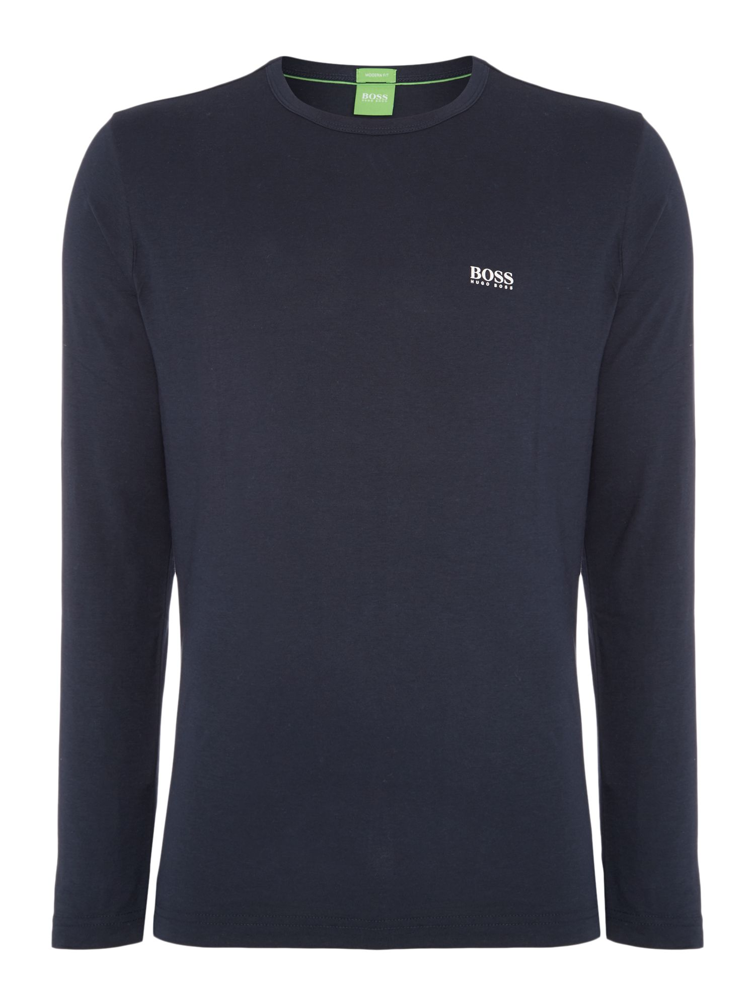 Men's Hugo Boss Togn Regular Fit Long sleeve T-Shirt, Blue