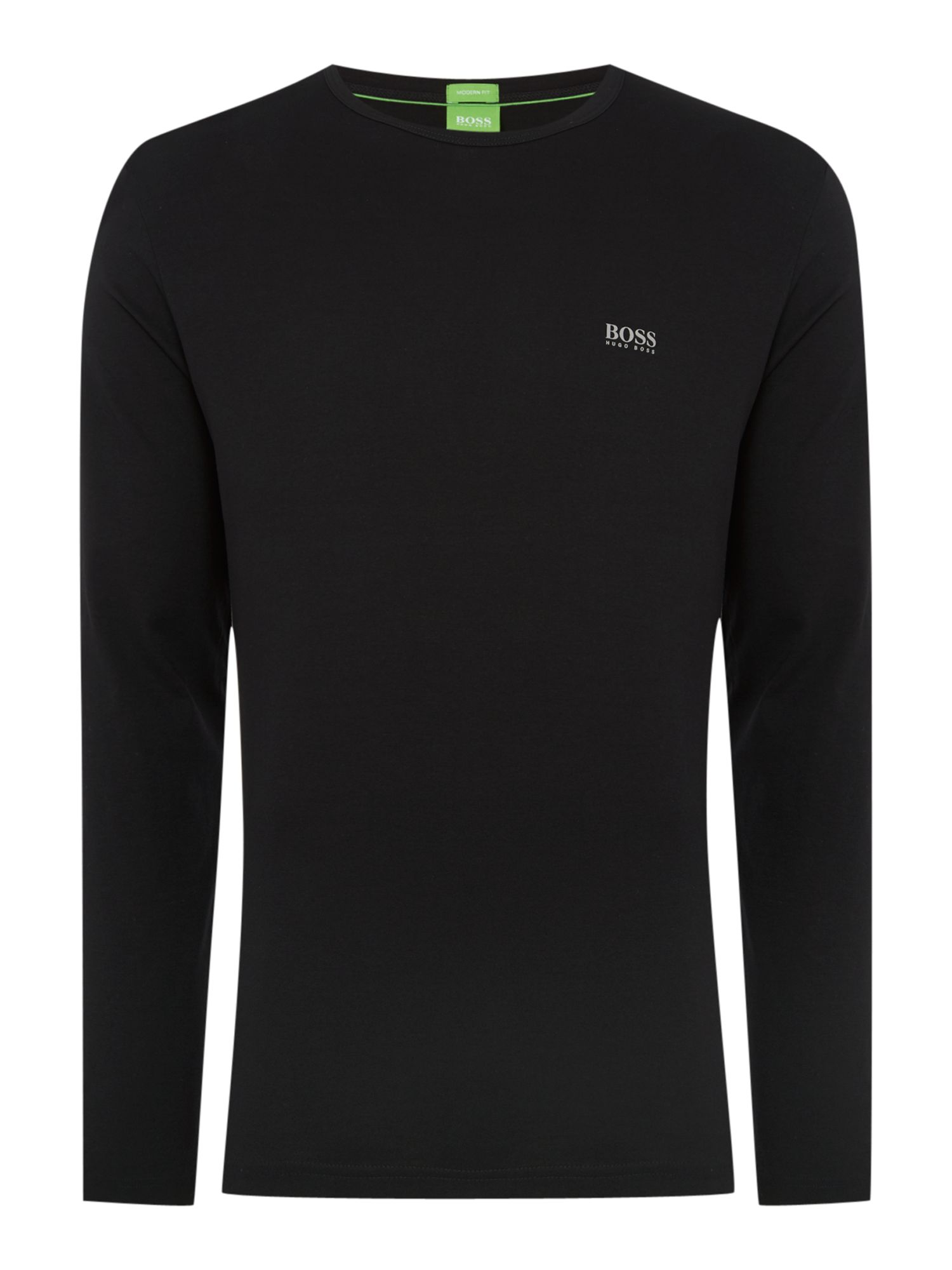 Men's Hugo Boss Togn Regular Fit Long sleeve T-Shirt, Black