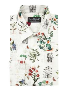 New & Lingwood Herbario Botanical Print Shirt