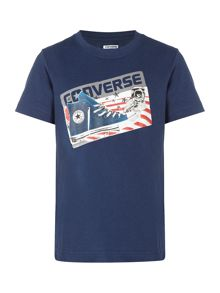 Converse Short Sleeve Chuck In Space Graphic T-Shirt