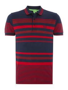 Paddy 1 regular fit stripe polo shirt