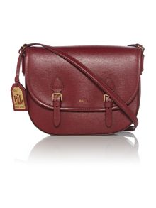 Tate Burgundy crossbody bag