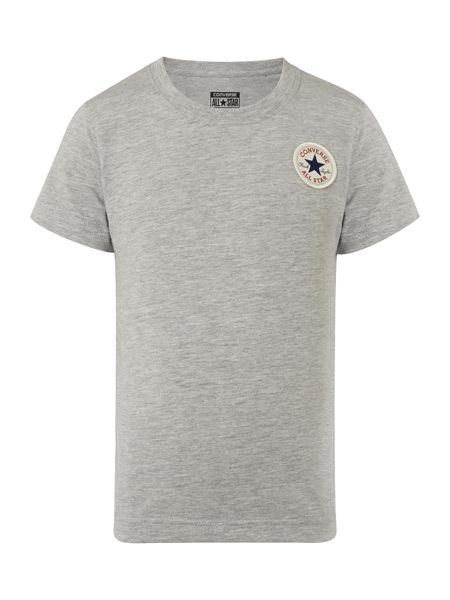 Converse Boys Short Sleeve Small Logo T-Shirt